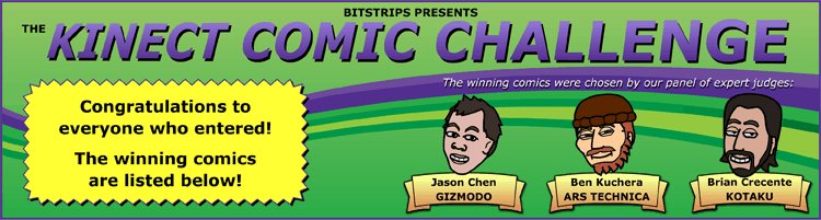 Bitstrips Presents: the Kinect Comic Challenge!