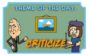 Criticize