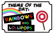 rainbows and lollipops